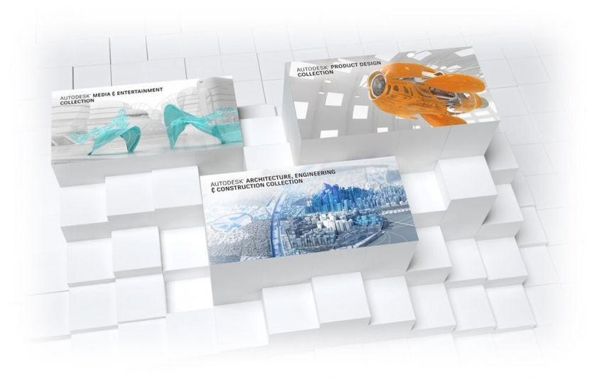 Bye bye Design Suites, Hello Autodesk Industry Collections
